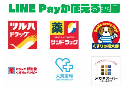 LINE Payが使える「薬局」