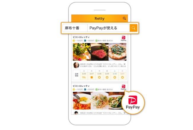 RettyのアプリでPayPayが使える飲食店と口コミがわかる!