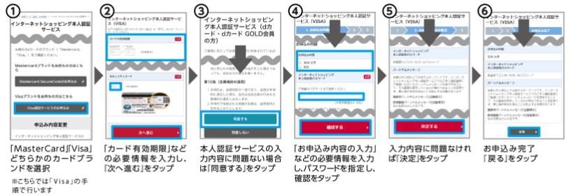 『d払い』に『クレジットカード(dカード)』を登録する方法